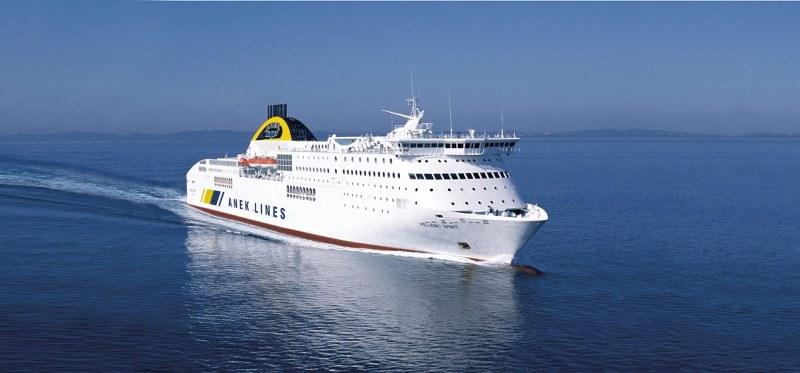 Traghetti da Ancona per isole greche